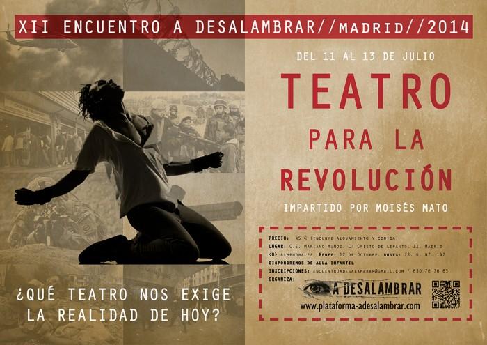Encuentro de Teatro para la Revolución, Plataforma Adesalambrar