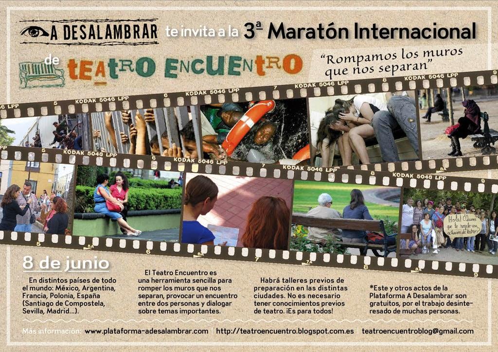 Maraton Teatro Encuentro en Madrid