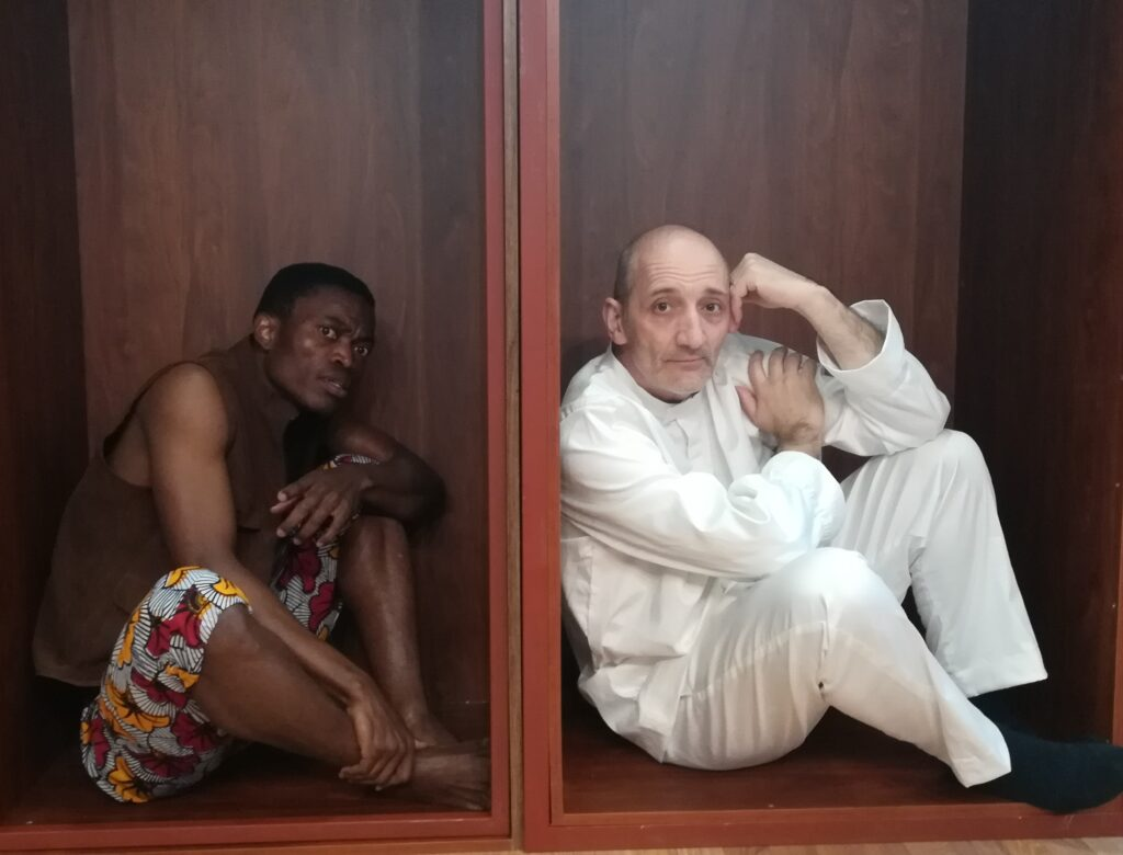 David Bingong y Moisés Mato